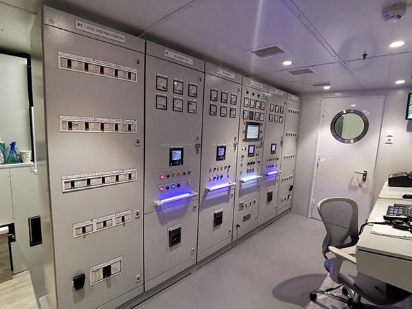 Ο Κύριος Ηλεκτρολογικός Πίνακας του mega yacht O'PARI